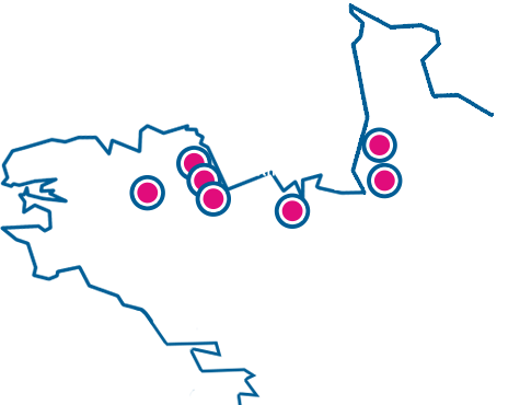 Carte agences Rouillard